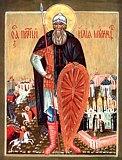 Православные святые - Икона преп. Илии Муромца Печерского.jpg