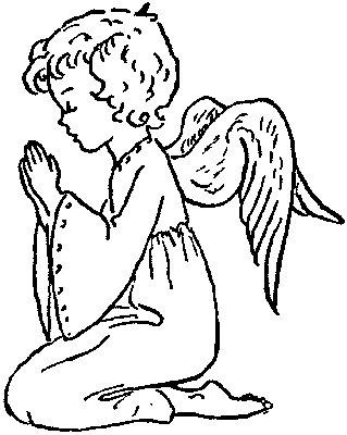 Православные раскраски  - ангел3.jpg