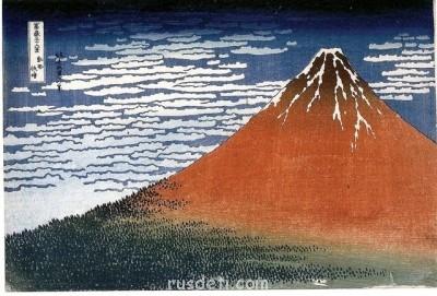 Япония - Коцусика Хокусай Гора Фудзи.jpg
