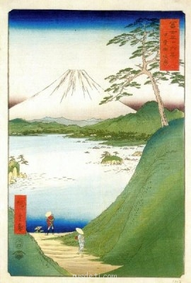 Андо Хиросигэ лист из серии 36 видов фудзи  - Хиросигэ 1.jpg