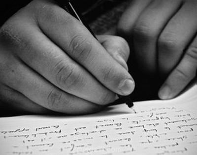 Письмецо в конверте  - писать.jpg