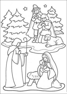 Православные раскраски  - Рождественская сказка.jpg
